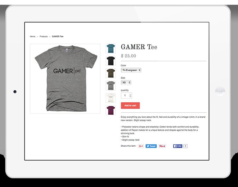 gamer t