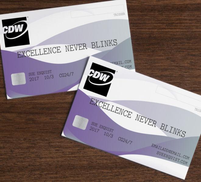 sue business card